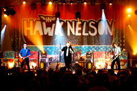 Hawk Nelson in Crystal Lake, 2009