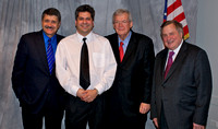Michael Medvid, Denny Hastert and Dick Morris
